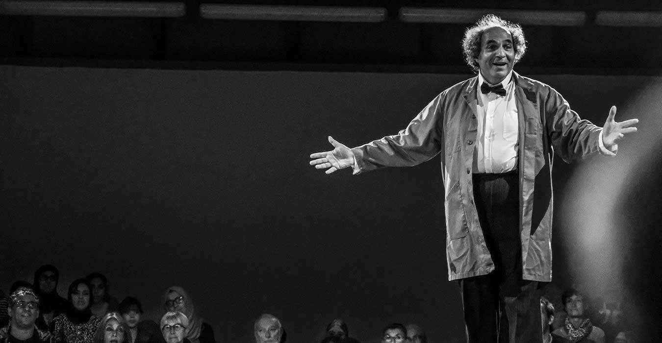 Serge Barbuscia devant le public