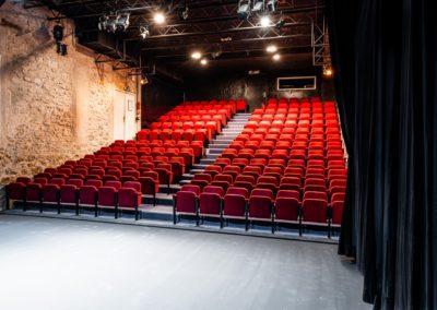 Scène du Scène du Théâtre du Balcon côté jardin