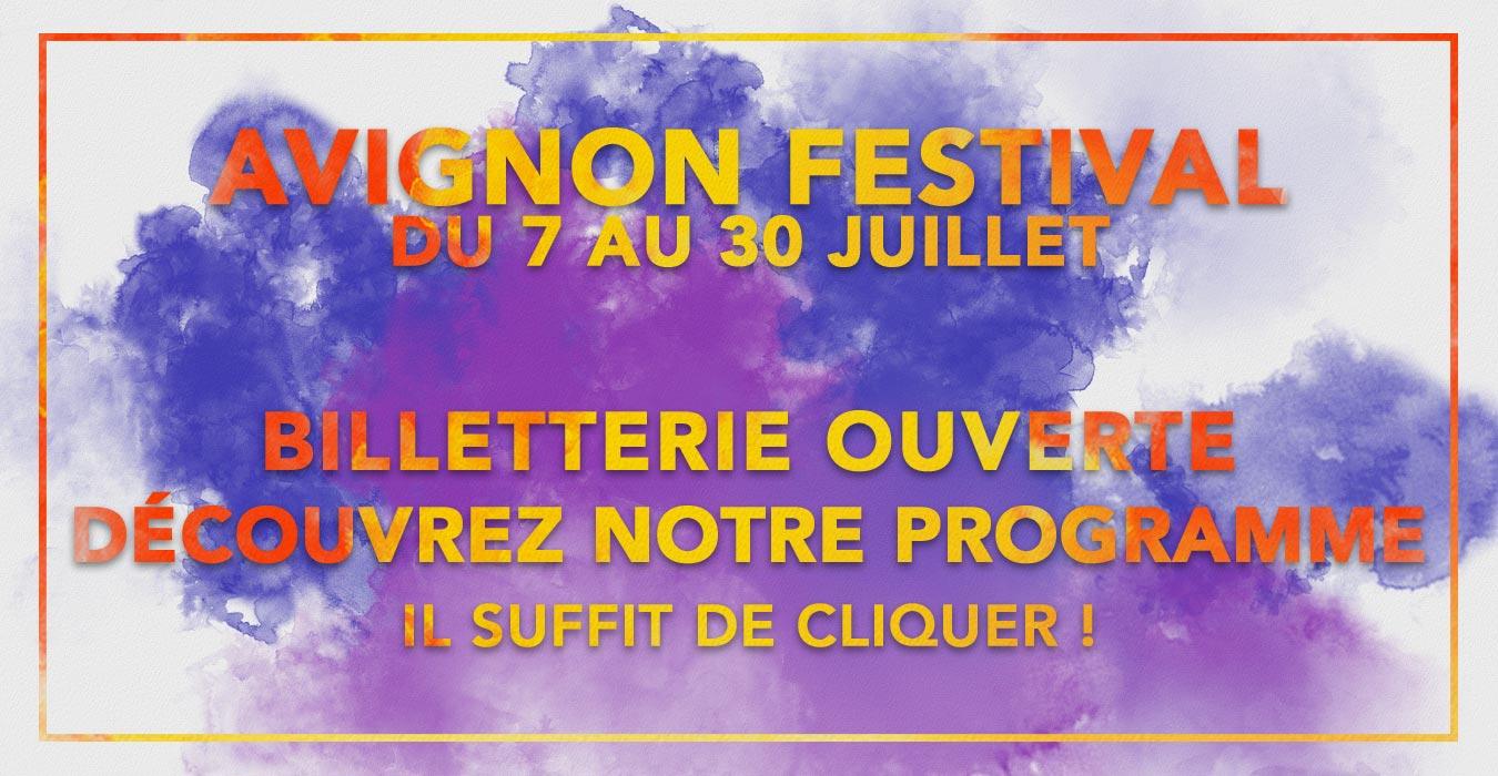 avignon festival billetterie ouverte
