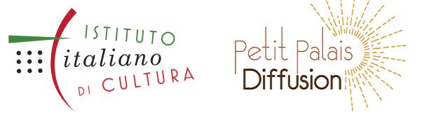 logo institut culturel italie et petit palais diffusion